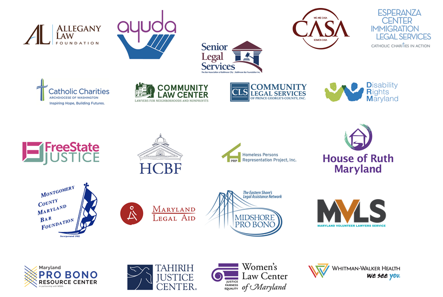 Call to action sponsor logos
